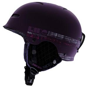 Snowboard Ride Vogue Womens Helmet - The Ride Vogue features quality details such as the plush faux fur lining and removable ear pads, this durable ABS hardshell construction helmet offers high-end protection without ripping a hole in your wallet. Passive venting provides no-fuss ventilation to prevent your dome from overheating. The detachable ear pads allow you to go bare for those spring laps. Strike a pose! . Certifications: ASTM F2040, CE EN1077:2007 B, Warranty: One Year, Gender: Womens, Race: No, Category: Half Shell, Audio: Audio Compatible, Brim/Visor: No, Ventilation: Fixed, Custom Fit Adjustment: No, Year Round Capable: No, Shell Construction: Hard Shell, Model Year: 2013, Product ID: 280668, Shipping Restriction: This item is not available for shipment outside of the United States., Model Number: R1209004-BM, GTIN: 0714636985050 - $44.99