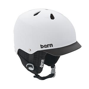 Snowboard Bern Watts Hard Hat - The Bern Watts Hard Hat is a great to keep your head in good shape without any discomfort. The Hard Hat design is made with a Brock Foam that is breathable, soft and porous to allow moisture and air to circulate. You'll have the protection against low impact hits while staying dry and comfortable. A visor will help keep the sun out of your eyes so you're not blinded at the last moment before trying to perform a trick and a you'll be able to adjust the Bern Watts Hard Hat three sizes for the ultimate customized fit. . Certifications: N/A, Warranty: One Year, Bearing Grade: High Performance, Race: No, Ventilation: Fixed, Custom Fit Adjustment: Yes, Year Round Capable: Yes, Shell Construction: Hard Shell, Model Year: 2013, Product ID: 281457, Model Number: M5MWBM, GTIN: 0843990042304, Brim/Visor: Yes, Audio: Not Compatible, Category: Half Shell, Gender: Mens - $54.91