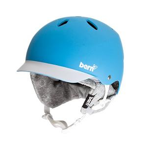 Snowboard Bern Lenox Womens Hard Hat - The Bern Lenox Womens Hard Hat is great for the adventurer who wants to keep their heads protected against any low impact hits. The Brock Impact Foam is soft and breathable for comfort and is made of porous closed cell foam so that moisture can evaporate and keep your head dry and cool when you're working up a sweat at the park. There's a visor to help keep the sun out of yours when you're on the mountain or skating around and its cool Bern style keeps it simple and classy. You should always keep your head safe and secure so grab a Bern Lenox Hard Hat and stay protected. . Certifications: N/A, Warranty: One Year, Gender: Womens, Special Features: The Original Vented Visor Helmet, Race: No, Category: Half Shell, Audio: Not Compatible, Brim/Visor: Yes, Ventilation: Fixed, Custom Fit Adjustment: No, Year Round Capable: Yes, Shell Construction: Hard Shell, Model Year: 2013, Product ID: 281485 - $69.90