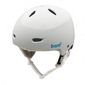 Snowboard Bern Brighton Womens Hard Hat - Get low-impact protection for your head with the Bern Brighton Womens Hard Hat. Designed with a soft and breathable Brock Impact Foam, this porous closed cell foam allows air and moisture to circulate so that your head can remain cool and dry. Also, to help keep your head dry you'll have 12 vents with a removable vent cover so you'll be able to work up a sweat without it bothering you. In the wintertime you'll have the knit liner keeping your head warm. Whether in the park or on the mountain, keep your head protected with the Bern Brighton Womens Hard Hat. . Certifications: N/A, Warranty: One Year, Gender: Womens, Special Features: 12 Vents with Removable Vent Cover, Bearing Grade: High Performance, Race: No, Category: Half Shell, Audio: Not Compatible, Brim/Visor: Yes, Ventilation: Fixed, Custom Fit Adjustment: No, Year Round Capable: Yes, Shell Construction: Hard Shell, Model Year: 2013, Product ID: 281493, Model Number: W2KHGWS, GTIN: 0843990042915 - $59.93