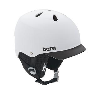 Snowboard Bern Watts EPS Helmet - The Bern Watts EPS Helmet is your all-season, all-sport way to keep your head protected against any unintended collisions. Whether you hit your head on a rail or just on a patch of snow, this helmet is designed for high-impact protection. The ABS Thinshell with EPS Hard Foam is 20% lighter than last year's model so you won't feel a heavy burden atop your head. When switching through seasons and sports, removing hats and more, you can have a secure customized fit and adjust the Watts Helmet three sizes. There are vents on top of the Bern Watts Helmet to help keep you dry and at a good temperature whether you're on the mountain or in the park. . Certifications: CPSC, ASTM F 2040, EN1077B and EN1078, Warranty: One Year, Gender: Mens, Race: No, Category: Half Shell, Audio: Not Compatible, Brim/Visor: Yes, Ventilation: Fixed, Custom Fit Adjustment: Yes, Year Round Capable: Yes, Shell Construction: In Mold, Model Year: 2013, Product ID: 281545 - $69.99