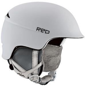 Snowboard R.E.D. Aletta Womens Helmet 2013 - Get the most out of every run with the R.E.D. Aletta and the lightweight profile, the brim styling for superior goggle interface and the Air Band Fit System it comes with. With a womens specific design to ensure that you're at the height of your performance and comfortable, there's nothing like the feel of the R.E.D. Aletta. Paragon helmets are audio capable so you can turn this baby into an audio-playing bucket with some sick new REDphones (Sorry, ladies, not included just compatible). You do have the Quick Clip Ear Pads which are included and give you enhanced warmth the way ear-muffs would for added comfort and protection against those wicked winter winds. Just snap them in and you are ready to ride. The liner and ear pads on the Aletta are lined with long haired fleece so while you are braving the elements on the mountain your head feels like it is curled up next the fire drinking hot coco. Outfitted with Airvanced Ventilation which allows you to control the climate inside the helmet and keep yourself cool when things get steamy. Designed with an Ultra Lightweight In-Molded Polycarbonate Shell, the R.E.D. Aletta is the ultimate in performance plus protection all in a helmet that has never made you look so good. Features: REDphones Audio Accessory Compatible. Certifications: ASTM 2040 CE 1077B, Warranty: One Year, Gender: Womens, Special Features: Air Band Fit System, Race: No, Category: Half Shell, Audio: Audio Compatible, Brim/Visor: Yes, Ventilation: Adjustable, Custom Fit Adjustment: Yes, Year Round Capable: No, Shell Construction: In Mold, Model Year: 2013, Product ID: 283900 - $99.92