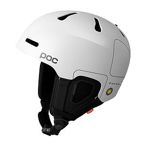 Snowboard The POC Fornix  provides ultimate protection in a lightweight and well-ventilated construction. POC has used the Aramid bridge concept, initially developed for the ground breaking Trabec trail helmet and optimized it for the Fornix structure. By applying Aramid in strings and molding them together with the foam liner, the helmet is kept lightweight, but at the same time offers increased stability, protection, and provides better energy absorption. The ventilation system is built on 6 vents at the top using a sliding plate for easy opening/closing, as well as front and rear vents in order to allow air to easily flow through the helmet. The front of the Fornix is designed not only to seamlessly integrate with your goggles, but also to prevent your goggles from fogging. Vertical vents that channel the air downwards achieve this. The Fornix helmet is equipped with a turn-ring size adjustment system so you can dial it in to achieve that perfect fit.  Adjustable Top Ventilation,  Goggle Vents,  Fixed Goggle Clip,  Size Adjustment System,  Rear Ventilation,  GTIN: 7332522438058, Model Number: 10460 01 XS, Product ID: 284490, Model Year: 2017, Shell Construction: In-Mold, Year Round Capable: No, Adjustability: Full, Ventilation: Adjustable, Brim/Visor: No, Audio: Not Compatible, Category: Half Shell, Race: No, Gender: Mens, Warranty: One Year, Certifications: EN 1077B and ASTM 2040 - $164.95