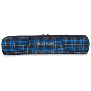 Snowboard Dakine Tour Snowboard Bag 2013 - Time to get the band together. Your band maybe your snowboarding equipment but that too needs to be safe while traveling. Traveling has never been so easy with the Dakine Tour Snowboard Bag. The Tour Bag comes fully padded and has an exterior access boot pocket for storage. On top of all that, the Tour Snowboard Bag comes with locking zipper cars, so you know your most beloved possession will be safe and sound no matter where you go. If traveling through the airport, use a TSA approved lock. The Dakine Tour Bag is going to keep your gear protected to and from your destination. . Material: 600D Polyester, Exterior Pockets: Yes, Padded Inside: Yes, Size Dimensions: 12 x 6 x 62in 157cm, ID Tag: Yes, Max Board Size: 165cm, Model Year: 2013, Product ID: 281174 - $84.99