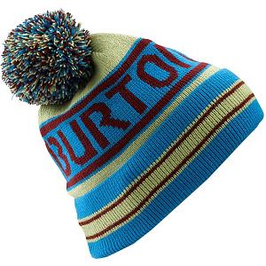 Snowboard Burton Trope Hat - Feel the warmth and comfort of the Burton Trope Hat. Made with 100% Acrylic, you'll have a soft and comfortable feel that will help keep those ears and head feeling warm in the cold temperatures. Throwing a pom up there for style and using the vintage stripes, you'll look darn good in a Burton Trope Hat. . Warranty: One Year, Battery Heated: No, Material: Synthetic, Lined: No, Type: Pom, Model Year: 2013, Product ID: 289533, Shipping Restriction: This item is not available for shipment outside of the United States. - $25.00