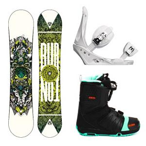 Snowboard Burton TWC Standard Snowboard Complete Snowboard Package 2013 - If you want an all-mountain, freestyle board, binding and boot combination then look no further than the Shaun White inspired Burton TWC Standard Snowboard Package. The TWC Standard Snowboard boasts a V-Rocker for all-mountain versatility. The directional flex focuses the pop in the tail and leaves the nose in check for better control and float. Your Burton Freestyle Bindings will give you high-powered performance while remaining very durable. A Single-Component highback provides plenty of support and its MicroFLAD allows you to adjust the forward lean so you can mix up the heelside. EVA baseplate cushioning provides you with an extra bit of cushioning for those times you land hard or face crud. Finally, you have the Salomon Faction FS Snowboard Boots. Salomon's own Speed Powerlace System makes getting to the mountain quicker and allows easy adjustments on the fly. Memory foam comforts your feet as Autofit self-adapts to the shape of your feet giving you a customized fit every time. Designed for awesomeness and equipped with power and performance, the Burton TWC Standard Package is perfect for the park-slayer and the mountain shredder. . Recommended Use: All-Mountain, Snowboard Rocker Profile: Rocker, Package Type: Board, Boots, and Bindings, Model Year: 2013, Product ID: 304750, Gender: Mens - $499.99