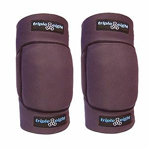 Snowboard Triple Eight designed these flexible knee pads to provide the best protection for your knees while snowboarding, while still allowing for maximum flexibility to perform your tricks. These knee pads are slim enough to fit under any first layer or shell, and are ideal for snowboarding. Tucked into a form-fitting neoprene sleeve is EVA contoured foam padding that not only covers your knee caps but also the sides of the knees. Strap yourself in with the Velcro strap and you've got a secure and custom fit that is ready for anything the mountain throws at you.  Form-fitting neoprene sleeve with EVA contoured foam padding,  Padding for sides of knees,  Easily fits under any first layer or shell,  Velcro straps provide a secure and custom fit,  Model Year: 2016, Product ID: 148740, Model Number: 604352 90020, GTIN: 0604352900201 - $32.99