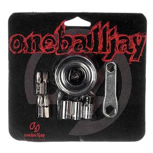 Snowboard One Ball Jay Spinner Tool - The One Ball Jay Spinner Tool provides you with the proper tools that are needed for your snowboard in a convenient palm sized package. This kit comes with all metal parts featuring 3 sockets and 4 screw driver bits. It also features a mini wrench with a small round socket wrench. With them being so little it makes for easy storage as you can carry them in your pocket. . Product ID: 87999 - $14.95
