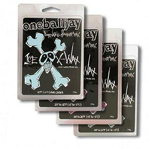 Snowboard One Ball Jay X-Wax 110g Snowboard Wax - One Ball Jay X-Wax snowboard wax is super fluorinated for ultimate performance. For tuners in the know Fluorocarbon means FAST! Simply put, Fluorocarbons are the most water repellent material used in wax today. So for riders that think second place sucks X-wax is the best wax for your money. Temperature ranges cover all possible conditions. Can be rubbed on or applied as hot wax for ultimate performance. . Model Year: 2012, Product ID: 128546 - $17.95