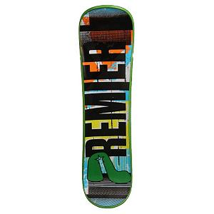 Snowboard Premier Green Pea Snowskate - Winter has descended upon the world and sidewalks are snow and ice covered. The skateboard just isn't going to work once the cold season comes in. Why should that stop you from bustin' a wicked Ollie? With a Premier Green Pea Snowskate you can ride like a skateboard in the snow on this 38 inch, concave design for added stiffness with a custom inset EVA foam top sheet. The new five channel jib offers you solid rail performance. Grab a few friends and prove that you don't need a blue sky summer day to show your tricks at the park. From Premier, the original and authentic snowskating company, there's nothing quite like taking the Green Pea Snowskate out after a good snowfall. . Warranty: One Year, Style: Deck, Material: Plastic, Skill Range: Beginner - Advanced Intermediate, Model Year: 2012, Product ID: 247317, Model Number: GREENPEA PLASTIC, GTIN: 0797734723298 - $44.94