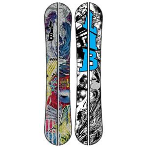 Snowboard Lib Tech T.Rice Pro Split HP C2BTX Splitboard 2013 - The T.Rice Pro does everything with ease in all types of riding conditions: hardpack, park, pipe, pow, rails, and even ice. But what if we add some horsepower to the board and cut in half, what do you get then. You get the T.Rice Pro Split HP C2BTX yep we know it is a mouth full. Horsepower is technology were the strip the board of its entire fiberglass set-up and replace it with a ultra light weight basalt construction. This really makes a difference climbing and riding with the split set up. The basalt also adds torsional rigidity which helps the split set up perform at a high level when Travis puts it to the test. All mountain versatility thanks to C2 Power Banana/Camber Combo Tech and Magne-Traction is the backbone for this snowboard. C2BTX is rocker between your feet blended with a radial camber to contact points. Focuses pressure between your feet for easy turns, great edge hold on ice and a solid amount of pressure to the tip and tails for power end-to-end stability, pop and maximum control. Comes equipped with Karakoram premium clips and latches . Recommended Use: Splitboarding, Skill Range: Advanced - Pro, Model Year: 2013, Product ID: 270972, Shipping Restriction: This item is not available for shipment outside of the United States. - $579.95