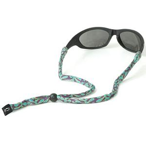 Snowboard Chums Original Cotton Wasatch Retainer for Sunglasses - The Chums Original Cotton Wasatch Retainer is all-cotton making this retainer high-quality and super comfy. It fits most standard frames and is great for securing your sunglasses firmly on your head whether you're on the water, on the mountain or roaming around the city. . Product ID: 276757 - $7.99