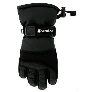 Snowboard Grandoe Grasshopper Toddlers Gloves - The Grasshopper is a toddler ski glove with all of the features of an adult ski glove, but sized down perfectly to accommodate even the youngest of beginners. The Grasshopper has a MicroPlus outer shell to provide some water relief. With Micro ThermaDry insulation which is a high loft insulation that allows you to stay warm no matter how cold outside or how wet the gloves get. Your little one will love you even more if you get this glove for them. . Removable Liner: No, Material: MicroPlus and Stretch Soft Shell, Warranty: Other, Battery Heated: No, Race: No, Type: Glove, Use: Ski/Snowboard, Wristguards: No, Outer Material: Softshell, Waterproof: No, Breathable: No, Pipe Glove: No, Cuff Style: Over the cuff, Down Filled: No, Model Year: 2012, Product ID: 196968 - $19.99