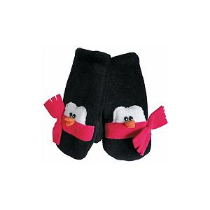 Snowboard 32 DEGREES Penguin Toddlers Mittens - Place your child's hands into the 32 Degrees Penguin Mittens and not only will they stay warm in the cold temperatures but they will love the cute and adorable penguin designs of their mittens. These very cute mittens are made with a high-grade, anti-pill fleece and handcrafted and sewn in the US. Match the 32 Degrees Penguin Mittens with the Penguin Hat and they will be ready to go, all bundled up and warm, whether they're off to daycare or joining you on errands. . Removable Liner: No, Material: High-Grade, Anti-Pill Fleece, Warranty: Other, Battery Heated: No, Race: No, Type: Mitten, Use: Casual, Wristguards: No, Outer Material: Fleece, Waterproof: No, Breathable: No, Pipe Glove: No, Cuff Style: Under the cuff, Down Filled: No, Touch Screen Capable: No, Model Year: 2013, Model Number: 052HP S, Product ID: 272661, Bearing Grade: High Performance - $22.00