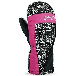 Snowboard Dakine Brat Toddlers Mittens - For the little one that wants to be the next great skier, the Dakine Brat Mittens are there to keep those little fingers warm as they practice their pizza slices on the bunny hill. High Loft Synthetic Insulation retains the warmth while resisting the moisture so their hands can stay warm and dry. There's a full length gauntlet that can be worn over or under the jacket which will help keep the cold and snow outside of their mittens or sleeves as well as a hook and loop adjustable gusset cuff closure to ensure that the heat remains inside the Dakine Brat Mittens. . Material: Nylon/Poly with DWR Treatment, Warranty: Lifetime, Battery Heated: No, Down Filled: No, Model Year: 2012, Product ID: 273075, Cuff Style: Under the cuff, Pipe Glove: No, Breathable: Yes, Waterproof: No, Outer Material: Nylon, Wristguards: No, Use: Ski/Snowboard, Type: Mitten, Race: No, Removable Liner: No - $12.95