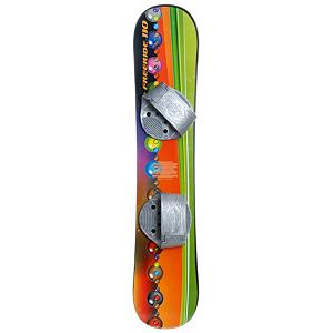 Snowboard Emsco Freeride 110 Marble Flow Plastic Snowboard - Entry level snowboards give the look of a real snowboard along with the ambition to make it to the pro level where you will be shredding with the big dogs. The Freeride 110 Marble Flow Plastic Snowboard by Emsco is a great board to give your youngsters who need a little push before taking on the real mountains. This Emsco board is made of solid fiberglass-composite construction with step-in adjustable strap bindings. These bindings make for easy exit and entry as well as comfortable mobility. The awesome graphics featuring a dragon make this freeride plastic beginner board look like something fierce!Due to inconstancy's in the manufacturers warehouse there may be slight blemishes on the board including scratches to the graphic, as well as slight graphic misplacement. These issues are all minor and in no way harm the structural integrity of the board. They are again reflected in the pricing discount. . Skill Range: Beginner - Intermediate, Model Year: 2012, Product ID: 254799 - $44.99