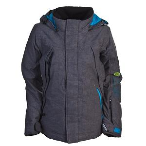 Snowboard Nomis Gradient Womens Insulated Snowboard Jacket - If you're looking for the best, put on the Nomis Women's Gradient Insulated Jacket and snowboard or hike away in this meshed-lined with underarm vents and breathable fabric to help regulate your core so you don't overheat and look like a sweaty mess when you reach the peak. Waterproof fabric, fully taped seams and waterproof zippers keep out the moisture with awesome efficiency, and the Gradient's insulation keeps you snuggly warm on chilly lift rides. The Nomis Gradient Jacket is designed to complement a woman's body while still providing comfort and warmth. Features: Fade Gaiter. Exterior Material: Teflon DWR, Softshell: No, Insulation Weight: 40g, Taped Seams: Critically Taped, Waterproof Rating: 10,000m, Breathability Rating: 10,000g, Hood Type: Fixed, Pit Zip Venting: Yes, Pockets: 2-4, Electronics Pocket: Yes, Goggle/Sunglasses Pocket: Yes, Powder Skirt: Yes, Cuff Adjustment: Yes, Hood: Yes, Warranty: Other, Use: Snowboard, Battery Heated: No, Race: No, Rain Jacket: No, Type: Insulated, Cut: Regular, Length: Medium, Insulation Type: Synthetic, Waterproof: Moderately Waterproof (5000mm-19,999mm), Breathability: High Breathability (9000g-15,000g), Cuff Type: Velcro, Wrist Gaiter: No, Waterproof Zippers: Yes, Cinch Cord Bottom: No, Insulator: No, Model Year: 2011, Product ID: 223517 - $69.94