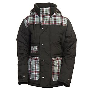Snowboard Burton Dandridge Down Womens Insulated Snowboard Jacket - When you're riding in super cold weather, it's a good idea to have a down jacket with you. And that down jacket should be the Burton Dandridge. The Dandridge features Burton's DRYRIDE Durashell 2-Layer coated lightweight nylon fabric with 10,000m of waterproofing so you stay bone dry. 10,000g breathability ensures that moisture from within has room to escape. The Satin and Taffeta lining are buttery smooth adding to the comfort of the Dandridge. This beauty has 550 fill down insulation so rest assured that you wiill stay warm. 140g of X-STATIC silver fiber in the underarms saves your friends' noses on the car ride home because it is anti-microbiol. If that's not enough, then just zip open the mesh-lined pit zips and let the cool air in. Fulltime contour hood is there for those days of snow stuff flurry. Also featured on the Dandridge are the removable wrist gaiters for extra snowy situations. Pop your little music box into the sound pocket and play your favor tune. If you're anything like me, then you probably bring a couple pairs of goggles to the mountain. No worries, because there's an anti-fog goggle pocket. If you're about to shred the deep stuff, make sure to use the jacket-to-pant interface with your Burton pant and carve it up. The Burton Dandridge is where it's at. Features: Fulltime Contour Hood, Removable Lycra Wrist Gaiters, Sound Pocket, Venting Anti-Fog Goggle Pocket, Removable Waist Gaiter with Jacket-to-Pant Interface. Exterior Material: DRYRIDE Durashell 2-Layer Coated Lightweight Nylon Fabric, Softshell: No, Insulation Weight: 550 Down Fill, Taped Seams: Critically Taped, Waterproof Rating: 10,000mm, Breathability Rating: 10,000g, Hood Type: Fixed, Pit Zip Venting: Yes, Pockets: 4-5, Electronics Pocket: Yes, Goggle/Sunglasses Pocket: Yes, Powder Skirt: Yes, Hood: Yes, Warranty: One Year, Use: Snowboard, Battery Heated: No, Race: No, Rain Jacket: No, Type: Insulated, Jacket Fit: Regular, Leng - $99.93