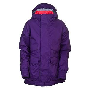 Snowboard Burton Pineview System Womens Insulated Snowboard Jacket - Are you familiar with the term, 'one board quiver'? Well, the Burton Pineview can be your one jacket closet. The Pineview is a 3-in-1 system jacket that has you covered no matter the weather. It features Burton's DRYRIDE Durashell 2-Layer coated pinstripe fabric with 10,000mm waterproofing to ensure you stay dry. The Pineview comes with a removable, reversible liner jacket. The quilted reversible liner is filled with 100g of High-Loft faux down insulation to keep you nice and warm. If the pit factory starts churning, just zip open the mesh-lined pit zips and let the cool breeze in. Critically taped seams prevents water from sneaking through the cracks. Blast your favorite playlist after tossing your little white music box into the sound pocket and make turns. Got a spare goggle you want to take with you? Then just toss it into the venting anti-fog goggle pocket. Flip the fulltime contour hood over your head for those windy or snowy days and continue the shred. The Pineview also has a jacket-to-pant interface to keep the snow outside on those knee deep moments. Come on... 3 jackets for the price of one? Why are you still reading this? Get some! Features: Mesh-Lined Pit Zips, Critically Taped Seams, Sound Pocket, Venting Anti-Fog Goggle Pocket, Fulltime Contour Hood, Removable Waist Gaiter with Jacket-to-Pant Interface. Exterior Material: DRYRIDE Durashell 2-Layer Coated Pinstripe Fabric, Softshell: No, Insulation Weight: 100g High-Loft Faux Down [Quilted Reversible Liner], Taped Seams: Critically Taped, Waterproof Rating: 10,000mm, Breathability Rating: 10,000g, Hood Type: Fixed, Pit Zip Venting: Yes, Pockets: 6-7, Electronics Pocket: Yes, Goggle/Sunglasses Pocket: Yes, Powder Skirt: Yes, Hood: Yes, Warranty: One Year, Use: Snowboard, Battery Heated: No, Race: No, Rain Jacket: No, Type: 3-in-1 Jacket, Cut: Regular, Length: Medium, Insulation Type: Synthetic, Waterproof: None, Breathability: High Breathability - $89.91