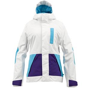 Snowboard Burton Tonic Womens Insulated Snowboard Jacket - The Burton Tonic Insulated Snowboard Jacket is packed full of features to ensure you have a warm day on the mountain as well as designed to be stylish and fun. With a DRYRIDE Durashell 2L Fabric you'll have technical weather proofing and breathable properties to help combat the cold and snow without making you feel bunched up. Combining 3M Thinsulate Insulation and a Women's Quad Package Mapping you can expect excellent comfort and heat retention keeping you warm without limiting your mobility. If it's warm out or you're feeling a little too toasty you can open the pit zips and let some fresh air inside to cool down. When the weather is real nasty then you can pop up the Fulltime Contour Hood and have a non-restrictive collar lined with fleece which reduces the chances of chin-chafe. The Burton Tonic Insulated Snowboard Jacket is the kind of outerwear you'll love wearing season-after-season so you can remain warm, comfy and cozy as you shred the entire mountain. Features: Jacket-to-Pant Interface, Women's Quad Package Mapping. Exterior Material: DRYRIDE Duracell 2-Layer Polyester Ottoman Fabric, Insulation Weight: 60 Grams, Taped Seams: Fully Taped, Waterproof Rating: 10,000mm, Breathability Rating: 10,000g, Hood Type: Fixed, Pit Zip Venting: Yes, Pockets: 4-5, Electronics Pocket: No, Goggle/Sunglasses Pocket: No, Powder Skirt: No, Bearing Grade: Performance, Hood: Yes, Warranty: One Year, Use: Snowboard, Battery Heated: No, Race: No, Type: Insulated, Cut: Regular, Length: Medium, Insulation Type: Synthetic, Waterproof: Moderately Waterproof (5000mm-19,999mm), Breathability: High Breathability (9000g-15,000g), Cuff Type: Velcro, Wrist Gaiter: No, Waterproof Zippers: No, Cinch Cord Bottom: No, Insulator: No, Model Year: 2013, Product ID: 289058, Shipping Restriction: This item is not available for shipment outside of the United States., Model Number: 276455-105XS, GTIN: 0886057849270 - $119.93