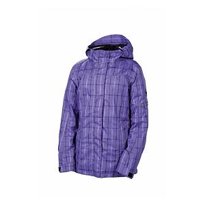 Snowboard 686 Smarty Latice 3 In 1 Womens Insulated Snowboard Jacket - The 686 Smarty Latice 3 In 1 Jacket has fully taped seams keeping in warmth and not allowing the cold to sneak in. The Latice Jacket has a fleece Smarty liner hoody included to add more warmth and a sweet look as this jacket can be worn 3 ways, perfect for any type of winter weather. The exposed vision hand and sleeve pocket zippers are for your convenience, as you ride down the mountain stashing all your needs and wants in your pockets for your snowboard excursion. The awesome plaid printed fabric steps up your winter outerwear look, The Smarty Latice Jacket is all about a great confident look that allows you to move with freedom as you enjoy your sport. . Hood: Yes, Cinch Cord Bottom: No, Waterproof Zippers: No, Model Year: 2013, Product ID: 292353, Wrist Gaiter: No, Cuff Type: Velcro, Breathability: High Breathability (9000g-15,000g), Waterproof: Moderately Waterproof (5000mm-19,999mm), Insulation Type: Fleece, Length: Medium, Cut: Regular, Type: 3-in-1 Jacket, Race: No, Battery Heated: No, Warranty: Other, Powder Skirt: Yes, Pit Zip Venting: No, Hood Type: Fixed, Breathability Rating: 10,000g, Waterproof Rating: 15,000mm, Taped Seams: Fully Taped, Insulation Weight: 250g, Exterior Material: Polyester, Insulator: No, Use: Snowboard, Goggle/Sunglasses Pocket: Yes, Electronics Pocket: Yes, Pockets: 4-5 - $159.95