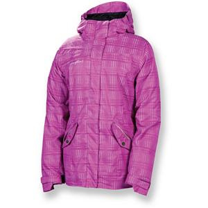Snowboard 686 Reserved Luster Womens Insulated Snowboard Jacket - The 686 Reserved Luster Insulated Jacket is a trendy plaid jacket that offers a soft feminine look. The Luster Jacket sends you out on the trails to practice your sport allowing you to look the part and handle your next challenge. With critically taped seams, toasty insulation and a hood that embraces your face keeping your upper half warm and comfortable. The center front stormflap with innie-outie audio pocket adds a bit more warmth and treats you with amazing tunes. The Luster Jacket moves with your expression on the slopes allowing you to step up your game with complete comfort. . Exterior Material: Polyester, Insulation Weight: 100g body / 60g sleeve and hood, Taped Seams: Critically Taped, Waterproof Rating: 10,000mm, Breathability Rating: 8,000g, Hood Type: Fixed, Pit Zip Venting: No, Pockets: 4-5, Electronics Pocket: Yes, Goggle/Sunglasses Pocket: Yes, Powder Skirt: Yes, Hood: Yes, Warranty: Other, Use: Snowboard, Battery Heated: No, Race: No, Type: Insulated, Jacket Fit: Regular, Length: Medium, Insulation Type: Synthetic, Waterproof: Mild Waterproofing (5,001 - 10,000mm), Breathability: Mild Breathability (5,001 - 10,000g), Cuff Type: Velcro, Wrist Gaiter: No, Waterproof Zippers: No, Cinch Cord Bottom: No, Insulator: No, Model Year: 2013, Product ID: 292383, Model Number: L2W308 ORCD XS, GTIN: 0883510196001 - $99.92