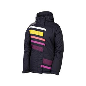 Snowboard 686 Mannual Nectar Womens Insulated Snowboard Jacket - The 686 Mannual Nectar Insulated Jacket will rock any snowboard look you are sporting. The Nectar adds just enough splash of color and design to create your own style - mix and match with your favorite 686 Snowboard Pants - putting together a creation that is all about you. The sleeves and hood have a great polyfill insulation and with critically taped seams, you are sure to stay warm, dry and protected. Having a adjustable powderskirt that works for you and underarm vents to circulate air lets your body temps flow with the stride of your ride. . Waterproof Zippers: No, Cinch Cord Bottom: No, Insulator: No, Wrist Gaiter: No, Cuff Type: Velcro, Breathability: Low Breathability (< 5,000g), Waterproof: Mild Waterproofing (5,001 - 10,000mm), Insulation Type: Synthetic, Length: Medium, Jacket Fit: Regular, Type: Insulated, Race: No, Battery Heated: No, Use: Snowboard, Warranty: Other, Hood: Yes, Powder Skirt: Yes, Goggle/Sunglasses Pocket: No, Electronics Pocket: No, Pockets: 4-5, Pit Zip Venting: Yes, Hood Type: Fixed, Breathability Rating: 5,000g, Waterproof Rating: 8,000mm, Taped Seams: Critically Taped, Insulation Weight: 100g, Exterior Material: Nylon, Model Year: 2013, Product ID: 292414, Model Number: L2W311 BLK XS, GTIN: 0883510196438 - $89.91