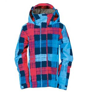 Snowboard Roxy Jetty Womens Insulated Snowboard Jacket - Ordinary in overrated when it outerwear on the mountain, that is why the Roxy Jetty Insulated Jacket takes color to the next level while keeping warm. The Jetty has a toasty 120 grams of QTI2 insulation and DWR finish that will give you comfort and breathability in a variety of conditions. Polyester fabric features a waterproof, breathable coating for dryness and comfort. Three way adjustable hood gives you full rain to make any adjustments or simply remove the hood entirely. Internal goggle and media pocket keep your tunes protected and your lens scratch free while you shred with friends. Fixed away powder skirt keep snow out of any place that it should not belong. The Roxy Jetty Insulated Jacket is going to make you stand out on the hill, watch out boys this jacket could distract you. Features: Mesh lined venting, Loop and snap attachment system, Fixed powder skirt, Internal media pocket, Internal goggle pocket. Exterior Material: Polyester Micro Twill, Insulation Weight: 120gm, Taped Seams: Critically Taped, Waterproof Rating: 8,000mm, Breathability Rating: 5,000g, Hood Type: Removable, Pit Zip Venting: Yes, Powder Skirt: Yes, Warranty: One Year, Battery Heated: No, Race: No, Cut: Regular, Length: Medium, Insulation Type: Synthetic, Waterproof: Mild Waterproofing (5,001 - 10,000mm), Breathability: Low Breathability (< 5,000g), Cuff Type: Velcro, Wrist Gaiter: No, Waterproof Zippers: No, Cinch Cord Bottom: No, Model Year: 2013, Model Number: WPWSJ534 IND S, GTIN: 0883861923066, Shipping Restriction: This item is not available for shipment outside of the United States., Product ID: 292893, Bearing Grade: Performance, Insulator: No, Type: Insulated, Use: Snowboard, Hood: Yes, Goggle/Sunglasses Pocket: Yes, Electronics Pocket: Yes, Pockets: 1-3 - $99.95