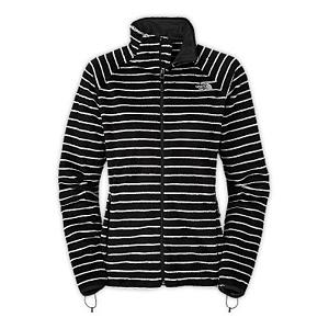 Snowboard The North Face Novelity Osito Womens Jacket - The North Face Novelty Osito Jacket is comprised of an incredibly soft, silken fleece, that gives you the softest feel ever. The Novelty Osito Fleece Jacket keeps you warm and comfortable beneath its lavish cozy fabric. The eye-catching stripe throughout the jacket offers style, design and originality in you Novelty Fleece. North face is always at the top of their game - introducing pizzazz along with comfort, warmth and quality. . Fleece Weight: Mid, Hood: No, Warranty: Lifetime, Closure Type: Full Zip Top, Wind Protection: No, Pockets: 1-2, Model Year: 2013, Product ID: 268802, Shipping Restriction: This item is not available for shipment outside of the United States. - $99.91