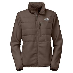 Snowboard The North Face Denali Down Womens Jacket - The North Face Denali Down Jacket will become your favorite, classic fleece jacket designed to provide comfort and warmth in cool to cold weather. Featuring an abrasion-resistant fabric that overlays at shoulders, chest, and elbows to increase durability in high-stress areas. This classic North Face Denali Down Jacket is fortified with thermal-mapped down insulation and a silky, taslan overlay that provides you with extreme warmth and comfort. . Exterior Material: Recycled Polartec 300 Series Fleece with DWR Finish, Insulation Weight: 550g, Taped Seams: None, Waterproof Rating: N/A, Breathability Rating: N/A, Fleece Weight: Heavy, Bearing Grade: High Performance, Hood: No, Warranty: Lifetime, Battery Heated: No, Race: No, Type: Fleece, Cut: Regular, Length: Medium, Insulation Type: Synthetic, Waterproof: Not Specified, Breathability: Not Specified, Waterproof Zippers: Yes, Closure Type: Full Zip Top, Wind Protection: No, Pockets: 3-4, Model Year: 2013, Product ID: 268813, Shipping Restriction: This item is not available for shipment outside of the United States., Model Number: A54LA20-S, GTIN: 0053329644882 - $89.93