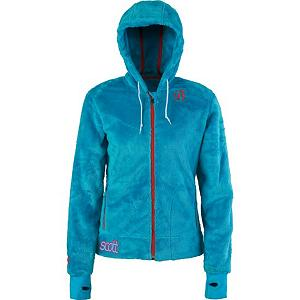 Snowboard Scott Junett Womens Jacket - The Scott Junett Jacket for women is your cozy hooded fleece that you will always turn to for warmth and comfort. The traditional cut lines and styling, produces a classic fit for easy movement. Wear The Junett Jacket under a jacket to additional warm or wear alone for great protection. The color combos in The Junett Jacket are trendy and bold to update your look. The hood that keeps your head and ears warm and the thumb hole opening that extends over your hand - brings on extra warmth coverage when the unexpected chill rolls in. Features: 100% polyester, Regular Fit. Exterior Material: Double Brushed Fleece, Insulation Weight: N/A, Taped Seams: None, Waterproof Rating: N/A, Breathability Rating: N/A, Fleece Weight: Mid, Bearing Grade: Performance, Hood: Yes, Warranty: Other, Battery Heated: No, Race: No, Type: Fleece, Cut: Regular, Length: Medium, Insulation Type: Fleece, Waterproof: None, Breathability: Not Specified, Waterproof Zippers: No, Closure Type: Full Zip Top, Wind Protection: Yes, Pockets: 1-2, Model Year: 2012, Product ID: 284823, Model Number: 220196 BU XS, GTIN: 0886687987571 - $49.92