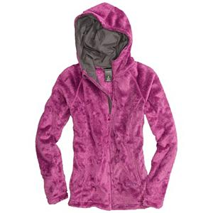 Snowboard Burton Cora Fleece Womens Hoodie - Super comfy and warm, you'll love wearing this Burton Cora Fleece Hoodie. It makes for an excellent layer when the temperatures are in the single digits or when heading out in the fall. It's made with DRYRIDE Thermex Shaggy Fleece which is highly breathable and will remove the moisture around your body so you can stay as warm and dry as possible. You'll have a Chafe-Free Chin Guard that you can pop up to help combat the wind and snow without worrying about irritation from moving your head. There are two Zippered Hand Warmer Pockets to help keep those hands feeling good. So cozy you'll want to wear it year-round, the Burton Cora Fleece Hoodie is great for any rider. . Material: DRYRIDE Thermex Shaggy Fleece, Warranty: One Year, Battery Heated: No, Closure Type: Full Zip Top, Wind Protection: No, Material: Fleece, Wicking Properties: Yes, Sleeve Type: Long Sleeve, Water Resistant: No, Model Year: 2013, Product ID: 288714, Shipping Restriction: This item is not available for shipment outside of the United States., Pockets: 1-2, Type: Hoodies, Hood: Yes, Category: Mid-Weight, Fleece Weight: Mid, Hood Type: Fixed - $53.93
