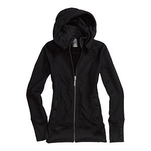 Snowboard Burton Minx Fleece Womens Hoodie - The Burton Minx Fleece is both foxy and functional. The Minx features Burton's DRYRIDE Thermex Sweater Fleece which is quick-drying and breathable. Yea, that will make your friends jealous as they freeze in their frozen hoodies. The Burton Minx Fleece features Burton's sig fit with a slightly longer body to compliment your contours. Pop up the hood for extra warmth or protection from the fluffy stuff and you're good to go. The Burton Minx Fleece has your back on or off the snow. . Hood Type: Fixed, Material: DRYRIDE Thermex Sweater Fleece, Hood: Yes, Warranty: One Year, Battery Heated: No, Type: Full Zip Top, Wind Protection: Yes, Type: Hoodies, Material: Fleece, Pockets: 1-2, Wicking Properties: Yes, Type: Long Sleeve, Water Resistant: No, Model Year: 2013, Product ID: 288774, Shipping Restriction: This item is not available for shipment outside of the United States. - $59.93
