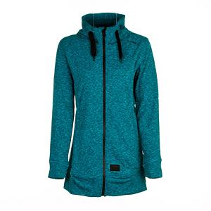 Snowboard O'Neill Amber Fleece Womens Hoodie - The O'Neill Amber Fleece is great for days off the mountain or even as a layer for colder days on the mountain. The heather fleece is breathable and moisture wicking. The O'Neill Amber is definitely attractive on and off the hill. . Hood Type: Fixed, Material: Heather Fleece, Hood: Yes, Warranty: One Year, Battery Heated: No, Closure Type: Full Zip Top, Wind Protection: No, Type: Hoodies, Material: Fleece, Pockets: 1-2, Wicking Properties: Yes, Sleeve Type: Long Sleeve, Water Resistant: No, Model Year: 2013, Product ID: 290306, Shipping Restriction: This item is not available for shipment outside of the United States. - $59.95