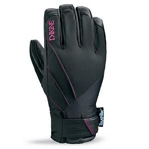 Snowboard Dakine Tempest Womens Gloves - The Dakine Tempest gloves are every womens backcountry dream glove. Charging at the mountain with style, the Tempest comes stacked with great features. Gore-Tex inserts provide waterproof feel and allow breathability, while the 4 way stretch nylon provides comfort all day long. The palm has touch screen compatible leather, so you can send photos, update your status, and post tweets to your friends showing them what they are missing out on. Primaloft insulation keeps your hands warm in the most fringed conditions. The Dakine Tempest glove is designed specifically to fit a womens hand, keeping your hands warm, dry, and breathable all day long on the slope. . Removable Liner: No, Material: 4-Way Stretch Nylon, Warranty: One Year, Battery Heated: No, Race: No, Type: Glove, Use: Ski/Snowboard, Wristguards: No, Outer Material: Nylon, Waterproof: Yes, Breathable: Yes, Pipe Glove: No, Cuff Style: Under the cuff, Down Filled: No, Touch Screen Capable: Yes, Model Year: 2013, Product ID: 283076 - $59.91