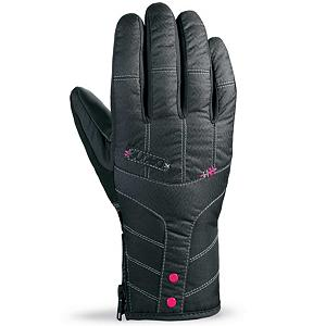 Snowboard Dakine Sienna Womens Gloves - When you wear the Dakine Sienna Ski Gloves you'll know you have a high-quality glove that is built to last some of the harshest conditions on the mountain. Its Waterproof Inserts ensures high waterproof rating and breathability. This insert also prevents moisture from seeping in and even removing the moisture from inside to help keep your hands as dry and comfortable as possible. The high loft insulation resists moisture in wet conditions and helps hold the heat inside so that your fingers and palm remains toasty warm. You'll have a Rubbertec Palm to ensure a solid grip on poles or the board and One Hand Cinch Gauntlet to make tightening up the gloves a breeze. Check out the styles of the Dakine Sienna Ski Gloves and look good and feel comfy the next time you head out to the slopes. . Removable Liner: No, Material: Nylon with DWR treatment, Warranty: One Year, Battery Heated: No, Race: No, Type: Glove, Use: Ski/Snowboard, Wristguards: No, Outer Material: Nylon, Waterproof: Yes, Breathable: Yes, Pipe Glove: No, Cuff Style: Under the cuff, Down Filled: No, Touch Screen Capable: No, Model Year: 2013, Product ID: 283091 - $40.00