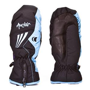 Snowboard Auclair Uptrail Womens Ski Mittens - Designed to keep your fingers and hands toasty warm this winter the Auclair Uptrail Mittens are lightweight and insulated for protection from the elements. A full leather palm with patch allows you to get a good grip on whatever you are trying to grasp and the Mirafil insulation will keep your hands and fingers toasty warm. A center zip allows you to get a secure and comfortable fit and enter the mittens quick and easy when you are wearing the Auclair Uptrail mittens. . Removable Liner: No, Warranty: Lifetime, Battery Heated: No, Race: No, Type: Mitten, Use: Ski/Snowboard, Wristguards: No, Outer Material: Nylon, Waterproof: Yes, Breathable: Yes, Pipe Glove: No, Cuff Style: Over the cuff, Down Filled: No, Model Year: 2012, Product ID: 285577 - $19.95