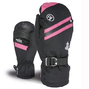 Snowboard Level Bliss Aimee Womens Mittens - The Level Bliss Aimee Mitten for women is the perfect compromise between a full gauntlet and an under-the-cuff style length. 100% Waterproof with highly breathable membrane that works to optimize warmth and comfort by keeping the hands dry. The Primaloft 200gr Insulation is soft, supple and low bulk synthetic fiber insulation. The best solution to keep your hands dry and it improves the drying time of your glove by getting moisture out fast. With a natural fit and fur cuff every women is going to want to get there hands not only on these mittens but get there hands in these mittens. . Removable Liner: No, Material: Primaloft, Warranty: One Year, Battery Heated: No, Race: No, Type: Mitten, Use: Ski/Snowboard, Wristguards: No, Outer Material: Nylon, Waterproof: Yes, Breathable: Yes, Pipe Glove: No, Cuff Style: Under the cuff, Down Filled: No, Touch Screen Capable: No, Model Year: 2013, Product ID: 291022 - $69.91