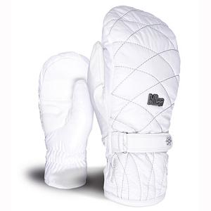 Snowboard Level Dixy Womens Mittens - The Level Dixy Mitt is insanely warm and insulated to protect you from the coldest of temperatures, the Level Dixy Womens Mitt are equipped with a Membra-Therm Plus Membrane that provides you with exceptional water-resistance which in turn optimizes warmth and comfort by keeping your hands dry. Primaloft Insulation is a super soft fabric that is water-repellent, highly breathable and won't hold water. A leather palm and a natural fit, the Level Dixy Ski Mitt will help keep your performance level high even in the most frigid of temperatures and ensure that your hands remain comfy and cozy all day long. . Removable Liner: No, Material: Leather Palm, Warranty: One Year, Battery Heated: No, Race: No, Type: Mitten, Use: Ski/Snowboard, Wristguards: No, Outer Material: Nylon, Waterproof: No, Breathable: Yes, Pipe Glove: No, Cuff Style: Under the cuff, Down Filled: No, Touch Screen Capable: No, Model Year: 2013, Product ID: 291075 - $70.00