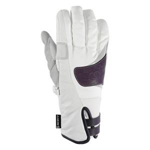 Snowboard The Scott Annita Womens Ski Gloves bring to you durability, dexterity and warmth, all that Scott is know for. Scott gloves are made to withstand the elements and provide superior grip when you need it most. You not only get a great look to complete an awesome ski apparel style - The Annita Glove is the key to withstand a rugged mountain adventure. The technology of the outer material and the insulation of The Scott Annita Glove has been designed to keep your hands dry, breathable and just the right temperature for you to take your next challenge as you ride the slopes.  Shell: Pittards Leather,  Insulation: 100g Hydroloft,  Lining: Fleece on back of hand/  MicoBemburg on palm,  GTIN: 0886118195957, Model Number: 224513-2320006, Product ID: 296192, Model Year: 2013, Glove/Mitten Insulation: Synthetic, Glove Weather Condition: Average, Glove Quality: Better, Touch Screen Capable: No, Down Filled: No, Cuff Style: Under the cuff, Pipe Glove: No, Breathable: Yes, Waterproof: Yes, Glove Outer Fabric: Leather, Wristguards: No, Use: Ski/Snowboard, Type: Glove, Race: No, Battery Heated: No, Warranty: One Year, Material: Shell: Pittards Leather Lining: Fleece on back of hand/MicroBemburg on palm, Removable Liner: No - $39.96