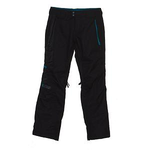 Snowboard Nomis Contour Insulated Womens Snowboard Pants - The women's Contour Insulated Snowboard pant from Nomis is a chino style insulated pant. Combining style with technical features. The Contour provides 10,000mm of waterproofing, 10,000gm of breathabilty and all of the strategic seams are sealed, which will keep your super dry but maintain breathability so you don't sweat to death. Rider-friendly features include mesh lined venting, inner ankle zippers and waterproof zippers. Style features of the Contour include pop color contrast accents, logo embossed Velcro, custom Nomis trims detailing, and an embroidered Nomis icon applique. Features: Insulated, Mesh Lined Venting, Belt loops, Inner Ankle Zipper, Logo Embosed Velcro, Custom Nomis Trims and Detailing, Waterproof Zippers, Nomis Name Logo. Model Year: 2011, Product ID: 223528, Model Number: 1054201 BLACK S, GTIN: 0883987324143, Pockets: 1-2, Waist: Beltloops, Lining Material: Nylon, Pant Fit: Regular, Type: Insulated, Use: Snowboard, Breathability: Mild Breathability (5,001 - 10,000g), Waterproof: Mild Waterproofing (5,001 - 10,000mm), Race: No, Warranty: One Year, Low Rise: Yes, Articulated Knee: Yes, Suspenders: None, Lower Cuff Adjustment: Inner Ankle Zipper, Thigh Zip Venting: Yes, Full Zip Sides: No, Pockets: 3-4, Breathability Rating: 10,000g, Waterproof Rating: 10,000mm, Taped Seams: Critically Taped, Insulation Weight: 40g, Softshell: No, Exterior Material: Coated Fabric with Teflon DWR - $79.94