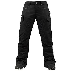 Snowboard Burton Lucky Short Womens Snowboard Pants - No more having to hem your snowboard pants if you have shorter legs, Burton has you covered with the Lucky Short Pant. Regardless if your first chair on the mountain or last chair of the evening, the Burton Lucky Pant is going keep you covered from start to finish. Mother Natures cruel tendencies are no match for the 2 layered Twill fabric if Dryride Durashell waterproof and breathability of 10,000mm and 10,000g. You'll have a micro-porous coating applied directly to the backside of the DWR-Finished outer fabric providing waterproof/breathable performance. Internal Taffeta Lining provides a shell feel with a dash of warmth to keep your legs ready to ride in the coldest conditions. The Burton Lucky pant fits loose without feeling baggy, also has adjustability in the hips. The Burton Lucky pant will bring you great things including maybe a little luck on your side. . Exterior Material: DRYRIDE Duracell 2L Fabric, Softshell: No, Insulation Weight: N/A, Taped Seams: Critically Taped, Waterproof Rating: 10,000mm, Breathability Rating: 10,000g, Full Zip Sides: No, Thigh Zip Venting: Yes, Suspenders: None, Articulated Knee: No, Low Rise: Yes, Warranty: One Year, Race: No, Waterproof: Moderately Waterproof (5000mm-19,999mm), Breathability: High Breathability (9000g-15,000g), Use: Snowboard, Type: Shell, Cut: Regular, Lining Material: Taffeta Lining, Waist: Adjustable, Pockets: 3-4, Model Year: 2013, Product ID: 289329, Shipping Restriction: This item is not available for shipment outside of the United States. - $131.92