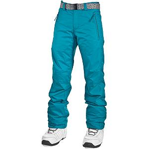 Snowboard O'Neill Star Womens Snowboard Pants - What's so great about the O'Neill Star pants? It has invisible polka dots. How sweet is that? In all seriousness, the Star pant has enough features to make your nose bleed. Critically taped seams protect you from the elements. Articulated design maximize your mobility so you can tweak out your bag of tricks. Firewall thermal insulation keeps you warm and comfy. Abrasion protection helps the longevity of the Star pant. Leg snow gaiter keeps the snow outside rather than inside your pants. O'Neill is also tossing you a belt with the Star pant. Now get on the mountain and shine. Features: Articulated design. Insulation Weight: Fleece Lined, Taped Seams: Critically Taped, Waterproof Rating: 8,000mm, Breathability Rating: 8,000g, Full Zip Sides: No, Thigh Zip Venting: No, Suspenders: None, Articulated Knee: Yes, Low Rise: Yes, Warranty: One Year, Waterproof: Moderately Waterproof (5000mm-19,999mm), Breathability: High Breathability (9000g-15,000g), Waist: With Belt, Model Year: 2013, Product ID: 290325, Shipping Restriction: This item is not available for shipment outside of the United States., Pockets: 3-4, Lining Material: Polyester, Cut: Regular, Type: Shell, Use: Snowboard, Race: No, Softshell: No, Exterior Material: Polyester - $69.91