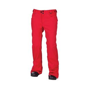 Snowboard 686 Mannual Patron Womens Snowboard Pants - 686 brings you the best in style and performance for all weather conditions. The 686 Mannual Patron Snowboard Pants represents functional, quality outerwear with all the right essentials for any conditions. With improved features including fully taped seams, zippered leg venting, snow gaiters and strategic insulation, this pant proves its worth in all types of weather conditions. The Mannual Patron brings to you a classic jean style that takes you from the slopes to the village with a look that doesn't stop. . Model Year: 2013, Product ID: 292424, Model Number: L2W407B DKRD S, GTIN: 0883510198753, Pockets: 3-4, Waist: Adjustable, Lining Material: Nylon Taffeta, Pant Fit: Regular, Type: Insulated, Use: Snowboard, Breathability: Mild Breathability (5,001 - 10,000g), Waterproof: Mild Waterproofing (5,001 - 10,000mm), Race: No, Warranty: Other, Low Rise: No, Articulated Knee: Yes, Suspenders: None, Thigh Zip Venting: Yes, Full Zip Sides: No, Breathability Rating: 8,000g, Waterproof Rating: 10,000mm, Taped Seams: Fully Taped, Insulation Weight: 40g, Softshell: No, Exterior Material: Polyester - $74.96