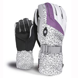 Snowboard Level Matrix Womens Gloves - The Level Womens Matrix Glove is the perfect blend of style and function for your hands. Geared for all mountain use with excellent water-resistant fabrics, improved sensitivity and exceptional grip. Stretch fabric provides a perfect combination of flexibility and durability. The Matrix Gloves use Thermo-Plus insulation which has been proven to reduce heat dispersion by 30%, this means that heat doesn't escape and your hands stay 30% warmer. Level pays great attention to comfort and functionality as they express quality and current style and design. With a removable liner which gives you options when the weather becomes warmer. The Matrix Glove comes equipped with a goggle and nose wipe to make sure you can see perfectly clear and without a runny nose. The Level Matrix Glove is one piece of equipment women should have to live without. . GTIN: 8051770398226, Model Number: 1132WG.45 7, Product ID: 290952, Model Year: 2013, Touch Screen Capable: No, Down Filled: No, Cuff Style: Over the cuff, Pipe Glove: No, Breathable: Yes, Waterproof: No, Outer Material: Nylon, Wristguards: No, Use: Ski/Snowboard, Type: Glove, Race: No, Battery Heated: No, Warranty: One Year, Material: Thermoliner, Removable Liner: Yes - $39.91