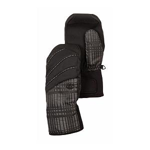 Snowboard 686 Luster Insulated Womens Mittens - The 686 Luster Insulated Mitten will add to your sweet ski and snowboard look. The palm has a fiberfill insulation, and a waterproof liner, with pre-curved full finger grip - creating a mitten with high performance. A sand grip anti-slip palm reinforcement and partially elasticized neoprene wrist with Velcro adjustable cuff tab allows you to keep a good grip on your outdoor sport. The contrast piping accents brings a trendy-cool look to your winter attire. . Model Year: 2013, Product ID: 292580, Touch Screen Capable: No, Down Filled: No, Cuff Style: Over the cuff, Pipe Glove: No, Breathable: Yes, Waterproof: Yes, Outer Material: Softshell, Wristguards: No, Use: Ski/Snowboard, Type: Mitten, Race: No, Battery Heated: No, Warranty: Other, Material: Nylon, Removable Liner: No - $39.91