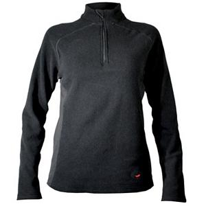 Snowboard Hot Chillys La Montana Zip-T Panel Womens Long Underwear Top - Hot Chilly's warmest base layer on the market today. The Hot Chillys La Montana Zip-T Panel Womens Long Underwear is a mid-weight, body fit, base layer that has an anatomical fit, stretches and moves with each of your moves for all of your winter outdoor and indoor sporting needs. Micro-Elite Chamois is the ticket if you are looking for versatility. The materials used for this incredible La Montana Panel Zip-T is the brushed MTF polyester fleece with antimicrobial polyester. Great for layering during the winter months and the Fall. The construction and design is unique and ideal for the individual that demands the warmest possible under garment for winter or high mountain sports. This La Montana Zip T-Panel has UPF 40+ (ultraviolet protection factor) provides the protection from the suns harmful rays. To keep you fresh OBP (odor blocking properties) have been added so no one will be able to tell or know that you have been working so hard in the black diamond runs, in the park or on your technique. This non-abrasive, soft feeling yarns used are the ideal base layer to keep you covered all winter long. Features: Lightly Sanded for Comfort and Performance, UPF 40+, Ultraviolet Protection Factor, Two Sided Fleece That Stretches and Moves With Your Every Move, Warmth Factor Rating 10 out of 10, Moisture Transport Technology to Keep Skin Dry and to Promote Warmth, Moisture Transfer Fiber Gussets in Underarms. Fit: Tight, Warranty: Lifetime, Material: Synthetic, Weight: Mid, Type: Top, Neck: Zip, Model Year: 2013, Product ID: 116949, Model Number: HC4039 101 S - $29.92