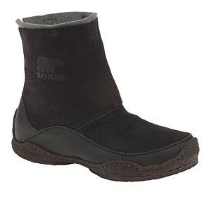 Snowboard Sorel Fernie Womens Boots - The Sorel Fernie boots put a modern variation on the traditional native mukluks. A soft Nubuck leather upper with a stretch gore panel in the back promises a snug, easy slip-on fit for just about everybody. Natural layered crepe rubber durable outsoles provide superb traction even on slippery surfaces which enable the Fernie to go pretty much anywhere. The interior felt lining will offer up warmth and keep you comfortable no matter what weather you might encounter on the trail. Plus a shorter cuff means the Fernie slips easily under your pant leg and is perfect for every day usage. Discover for yourself what indigenous peoples have known for a long time and pick up a pair of these delightful Sorel Fernie winter boots. . Warranty: One Year, Waterproof: No, Material: Nubuck Upper on Natural Crepe Rubber Outsole, Type: Boot, Insulated: Yes, Sole Material: Layered Natural Crepe Rubber, Model Year: 2013, Model Number: NL1731 010 6.0, GTIN: 0803298562140, Product ID: 242678 - $49.95