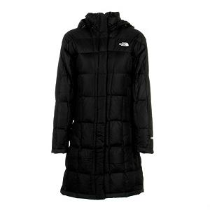 Snowboard The North Face Metropolis Parka Womens Jacket - When the weather gets bone chilling cold you are going to want to stay toasty warm. With that in mind The North Face has created the Metropolis Parka. This jacket keeps you wrapped in 600 Fill Down insulation to keep you toasty warm in even the coldest of conditions. This jacket is lightweight and will slide comfortably over whatever clothing you put on and features a DWR finish that will repel snow and water to keep you dry as well. The insulated adjustable hood will retain body heat and keep your head protected from the elements and should the weather not call for a hood simply un-snap it and leave it at home. This jackets has a longer length and features a brushed chin guard lining to keep you comfy when all zipped up. An internal media pocket will store your favorite MP3 player so you can jam and two zippered handwarmer pockets will keep your hands toasty warm or can be used as storage for some small accessories that you may need. The North Face Metropolis Parka will keep you warm, dry and comfortable when wrapped around you. Features: Embroidered Logo at Left Chest and Back Right Shoulder. Exterior Material: Nylon Taffeta with DWR, Insulation Weight: 600 Fill Down, Taped Seams: None, Waterproof Rating: DWR Treatment, Breathability Rating: N/A, Pit Zip Venting: No, Pockets: 1-3, Electronics Pocket: Yes, Goggle/Sunglasses Pocket: No, Powder Skirt: No, Hood: Yes, Warranty: Lifetime, Use: Street, Battery Heated: No, Race: No, Type: Insulated, Cut: Regular, Length: Long, Insulation Type: Down, Waterproof: Water Resistant (1000mm), Breathability: Not Specified, Cuff Type: None, Wrist Gaiter: No, Waterproof Zippers: No, Wind Protection: No, Cinch Cord Bottom: No, Insulator: No, Model Year: 2013, Product ID: 232283, Shipping Restriction: This item is not available for shipment outside of the United States. - $229.95
