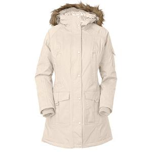 Snowboard The North Face Juneau Womens Jacket - When the weather takes a turn for the worse you will be happy that you are wearing The North Face Juneau Insulated Jacket. This jacket is insulated with 550 fill down insulation that will keep you toasty warm in all conditions. This jacket features a hood that will keep your dome protected from the elements and for style The North Face put a faux fur on the hood, should you not feel stylish the fur is removable. All of the seams are fully sealed to keep you nice and dry should things start getting wet. The North Face Juneau Insulated Jacket comes in a longer length for added protection from the elements and there are plenty of pockets for storing any additional items that you may need for a day of fun out on the mountain. . Taped Seams: Fully Taped, Warranty: Lifetime, Waterproof Zippers: No, Wind Protection: No, Model Year: 2013, Product ID: 270024, Shipping Restriction: This item is not available for shipment outside of the United States., Insulator: No, Cinch Cord Bottom: Yes, Wrist Gaiter: No, Cuff Type: Elastic, Breathability: Low Breathability (< 4000g), Waterproof: Moderately Waterproof (5000mm-19,999mm), Insulation Type: Down, Length: Long, Cut: Regular, Type: Insulated, Race: No, Battery Heated: No, Use: Ski, Hood: Yes, Powder Skirt: No, Goggle/Sunglasses Pocket: No, Electronics Pocket: Yes, Pockets: 4-5, Pit Zip Venting: No, Hood Type: Fixed, Breathability Rating: 800g, Waterproof Rating: 17,600mm, Insulation Weight: 550 Fill Down, Exterior Material: HyVent 2L - $279.95